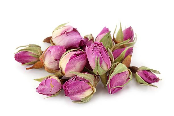 getrocknete rosen - rosen tee stock-fotos und bilder