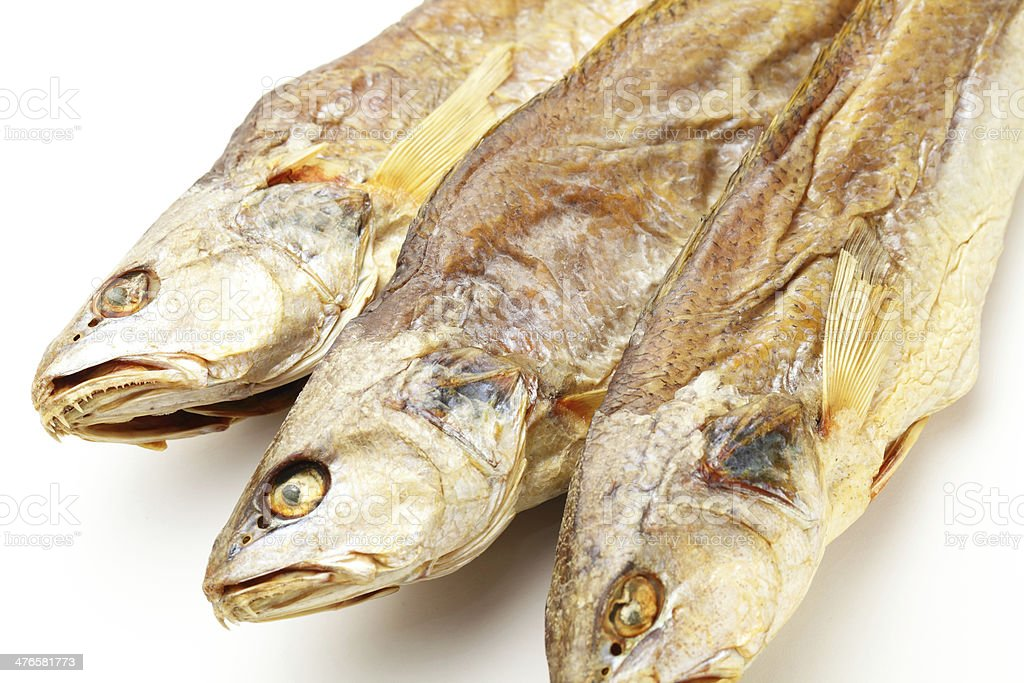 Dried salt Fish royalty-free stock photo