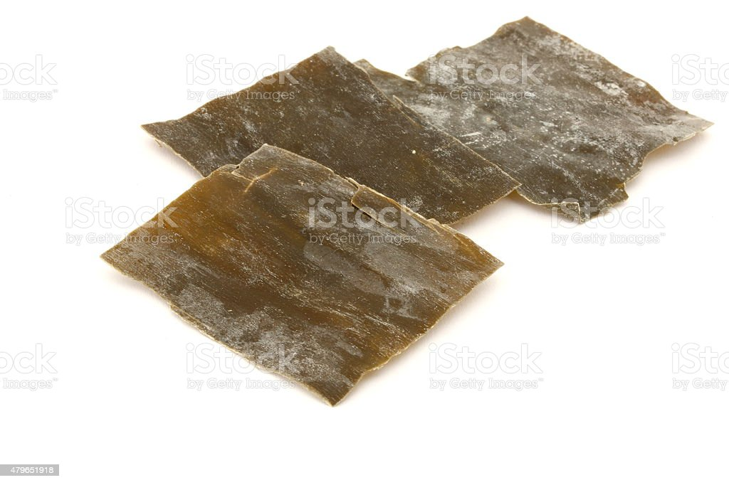 Dried Sea Tangle stock photo