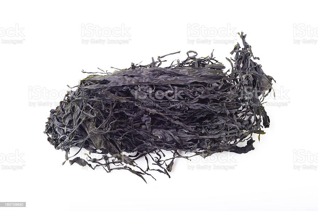 Dried Seaweed royalty-free stock photo
