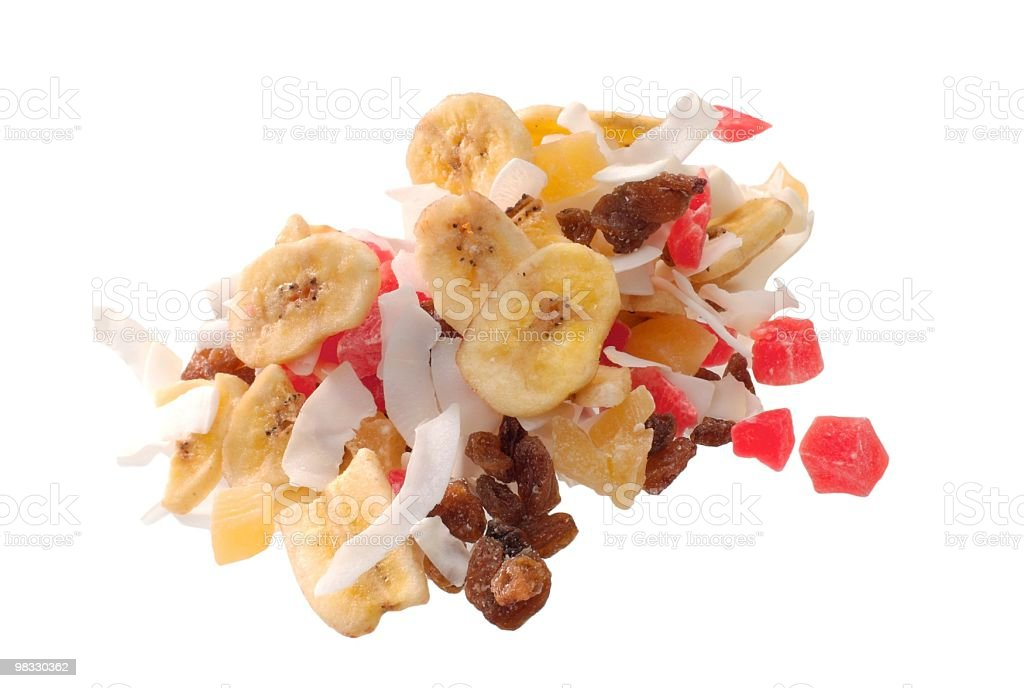 Dried Tropic Fruit royalty-free stock photo