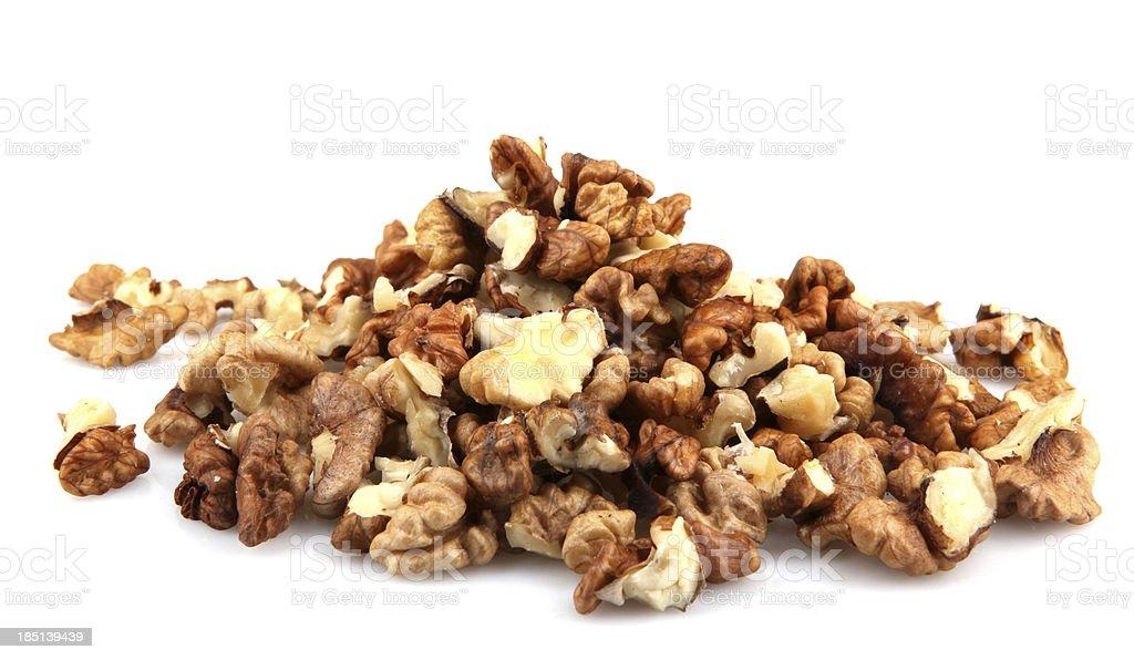 Dried Walnuts royalty-free stock photo