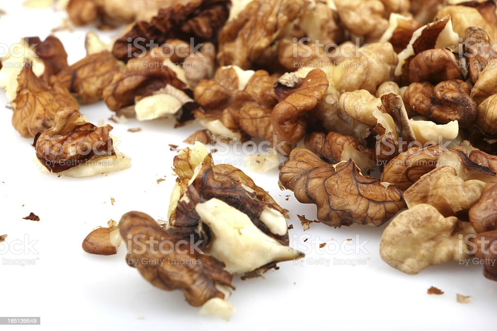 Dried Walnuts royalty-free stock photo