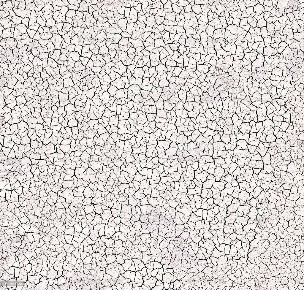 Dried White Mud Texture royalty-free stock photo