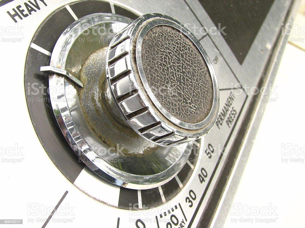 drier knob royalty-free stock photo