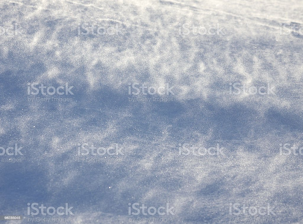 Drifting snow royalty-free stock photo