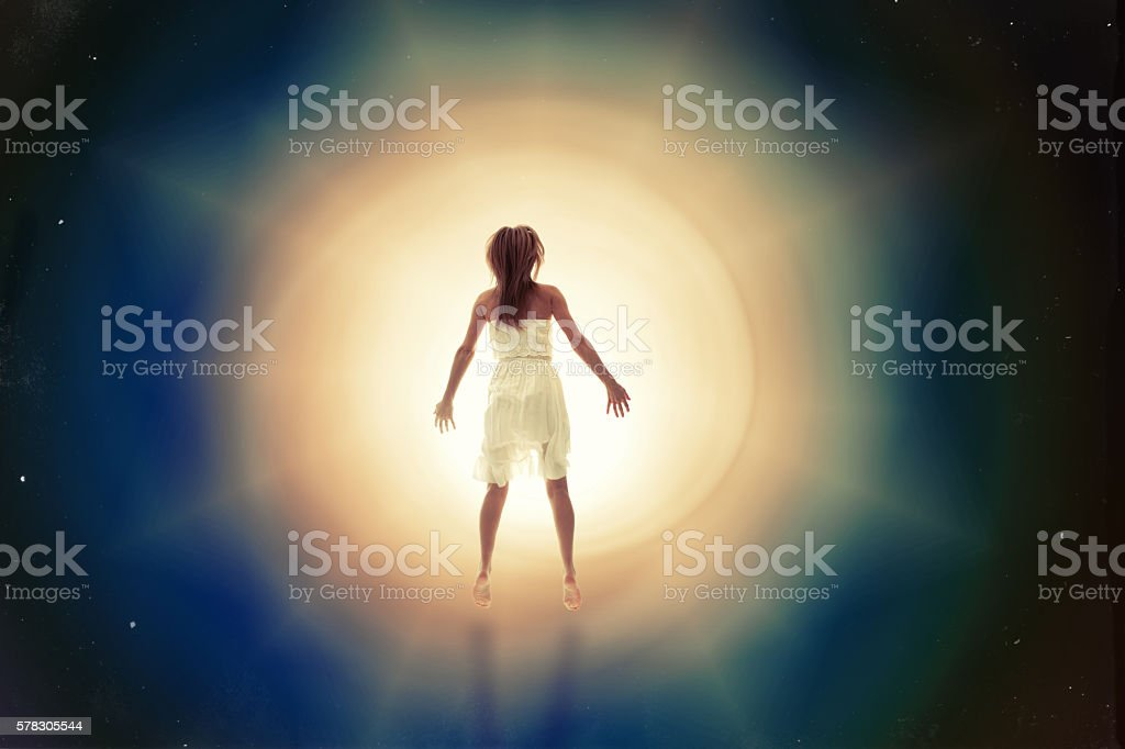Drifting To Another Dimension stock photo