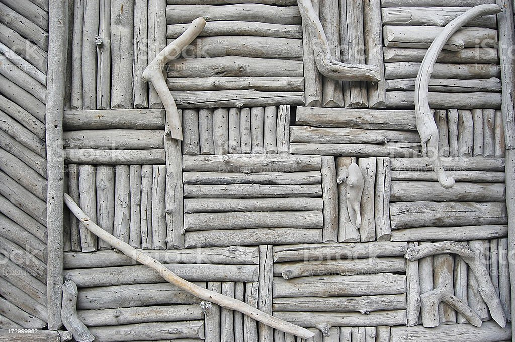 Driftwood Siding royalty-free stock photo