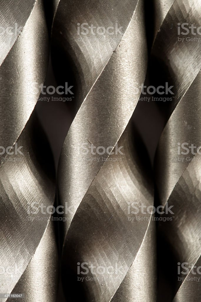 drill bits stock photo