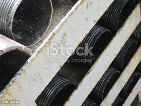 istock Drill casing pipe 478103844