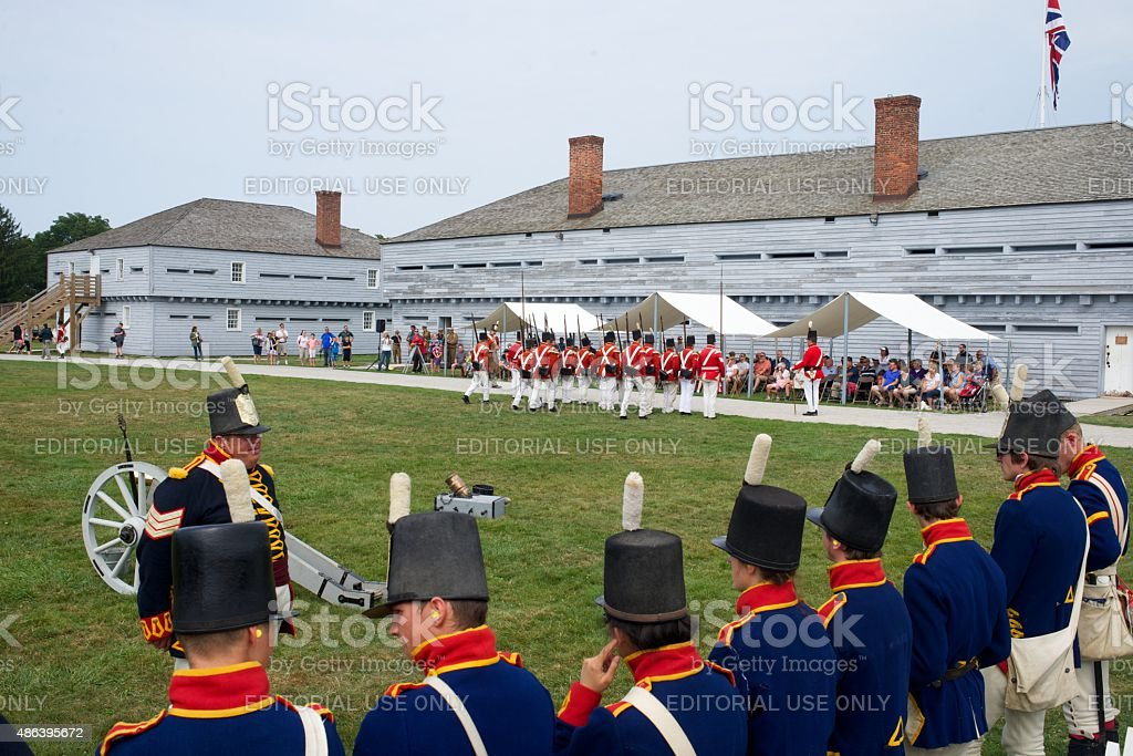 Drill Demonstration im Fort George Park – Foto
