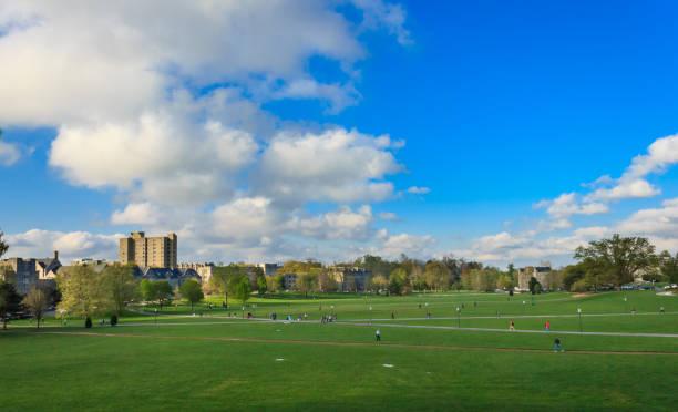 Drill field at Virginia Tech