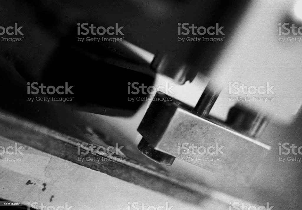 Drill Press royalty-free stock photo