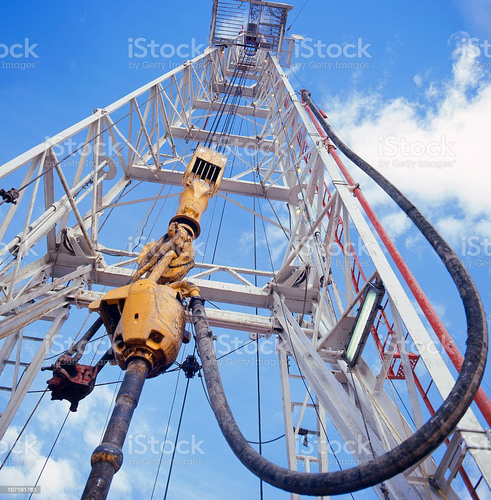 Drill Rig #2 royalty-free stock photo