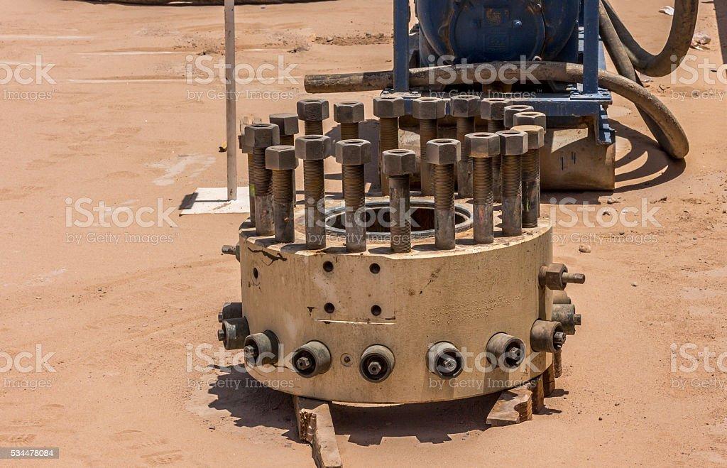 Drilling equipment stock photo