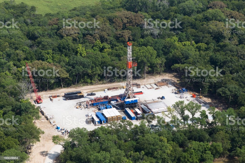 Drilling For Independence stock photo
