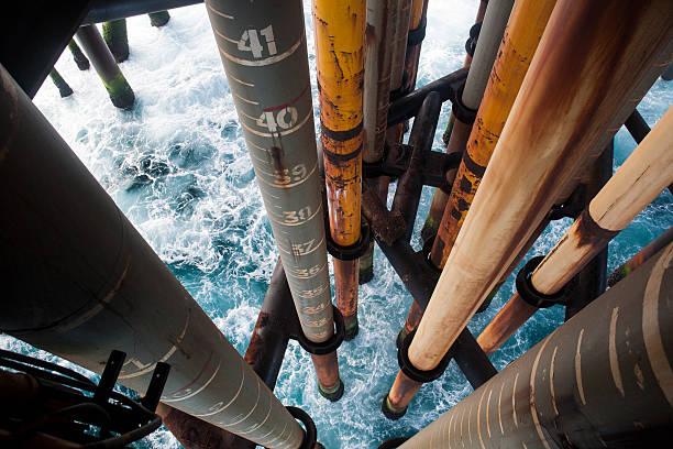 Drilling für Öl – Foto