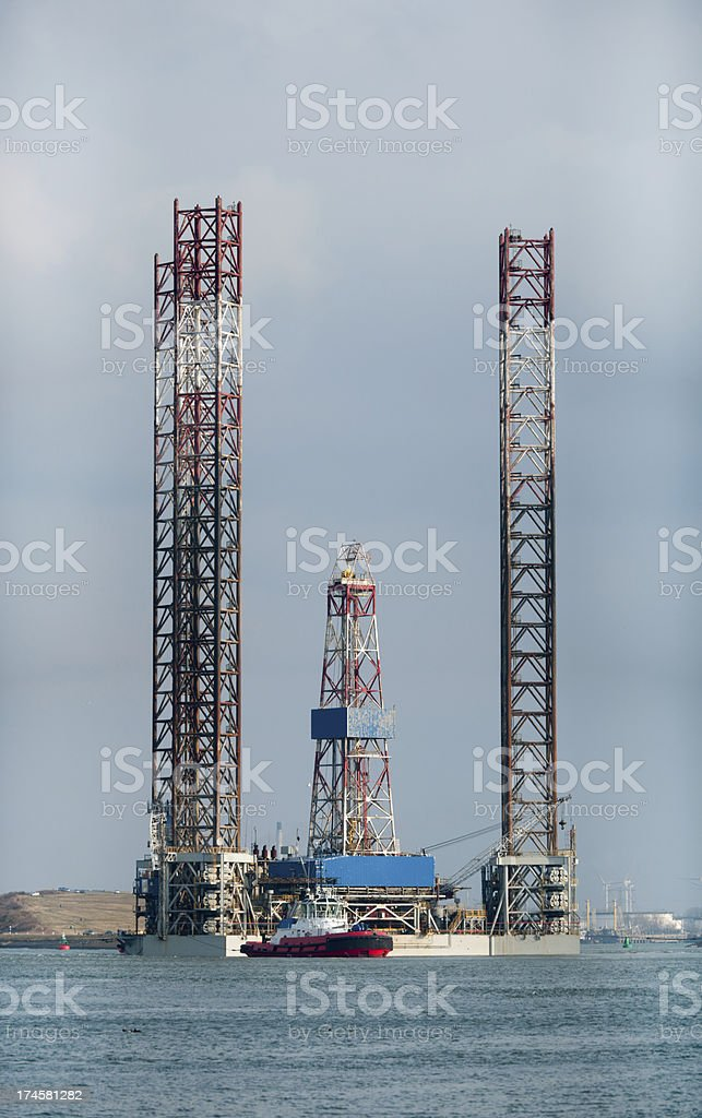 Drilling Jack royalty-free stock photo