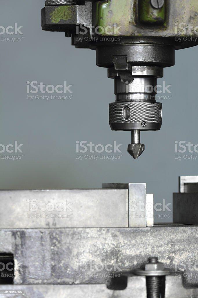 Drilling Machine stock photo