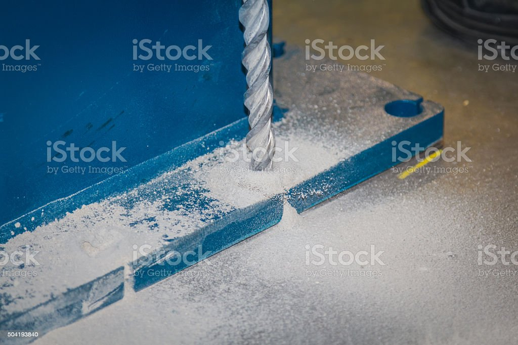 Drilling. stock photo