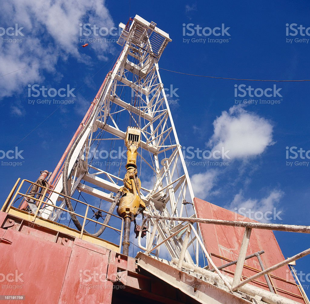Drilling Rig #1 stock photo