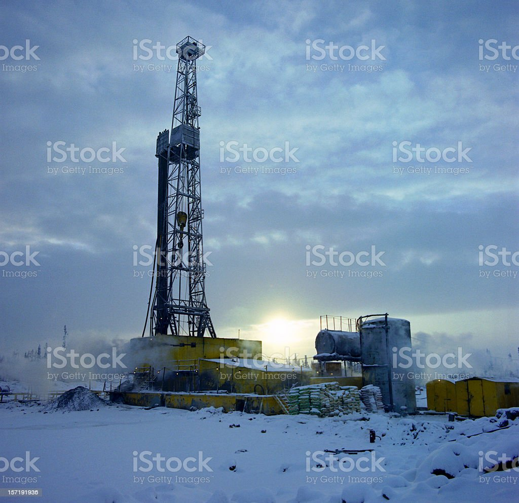 Drilling Rig #3 royalty-free stock photo