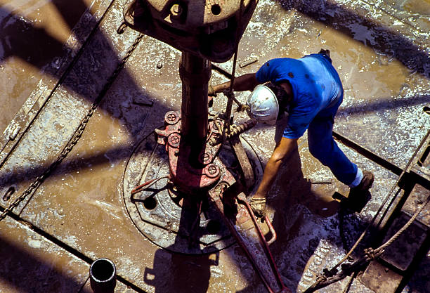 Drilling rig Arbeitnehmer – Foto