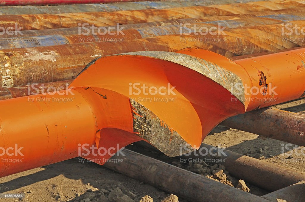 Drilling Tool: Stabilizer royalty-free stock photo
