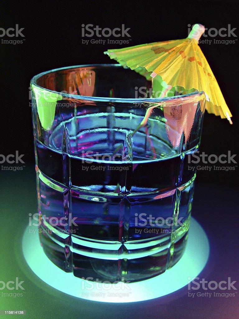 Drink & Umbrella royalty-free stock photo