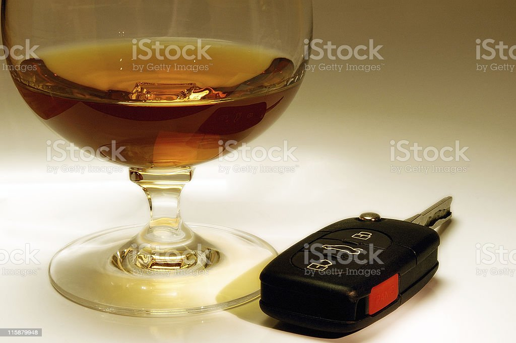 Drink and drive? royalty-free stock photo