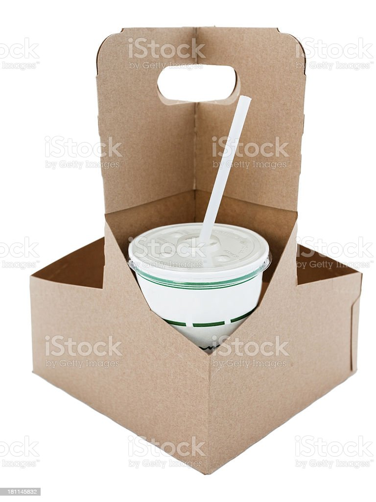 Drink Box royalty-free stock photo