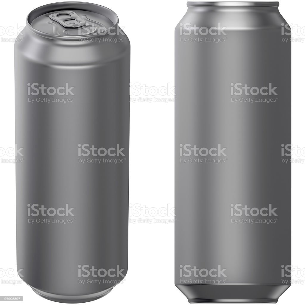 Drink can 500 ml royalty-free stock photo