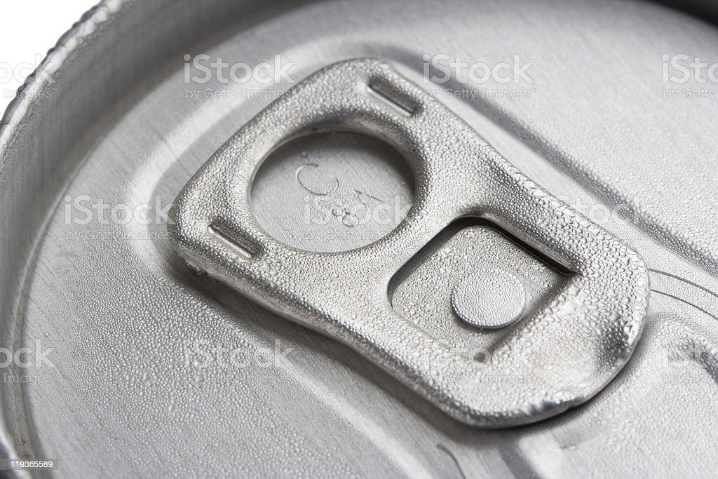 Lata de Bebida - fotografia de stock