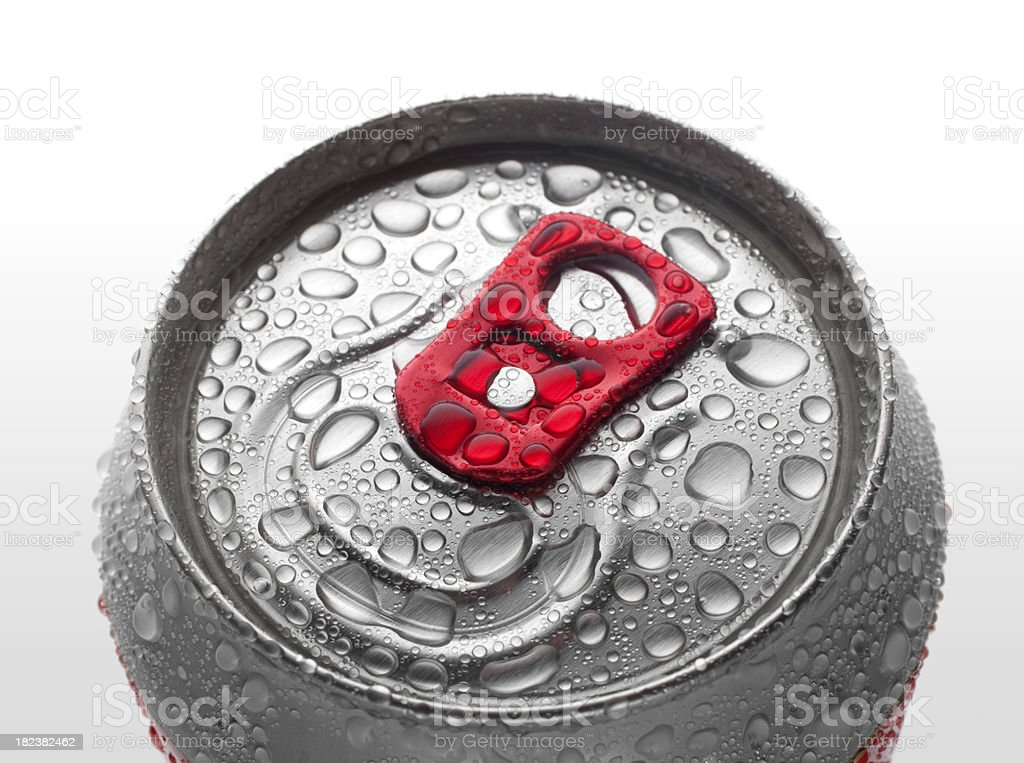 Drink can royalty-free stock photo