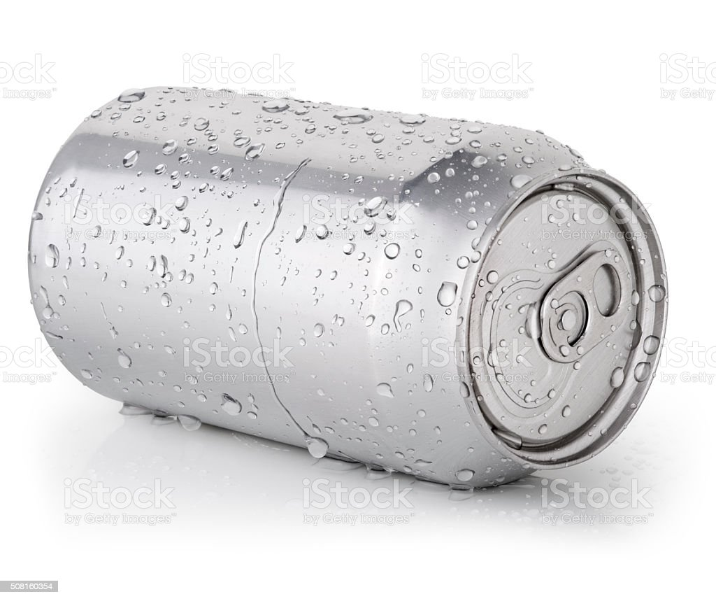 Drink Can stock photo