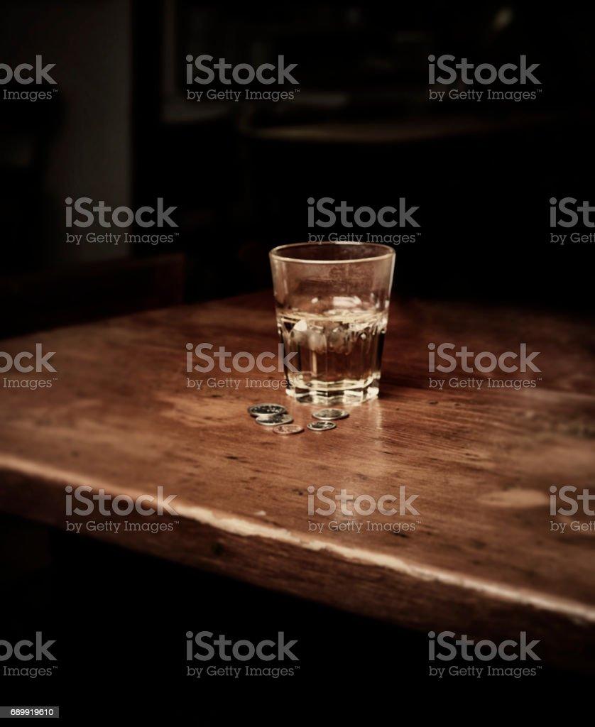 Drink & Change stock photo