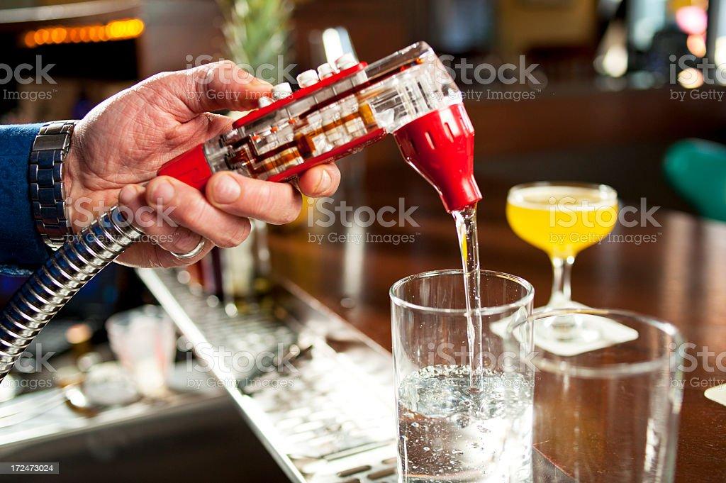 Drink Dispenser stock photo