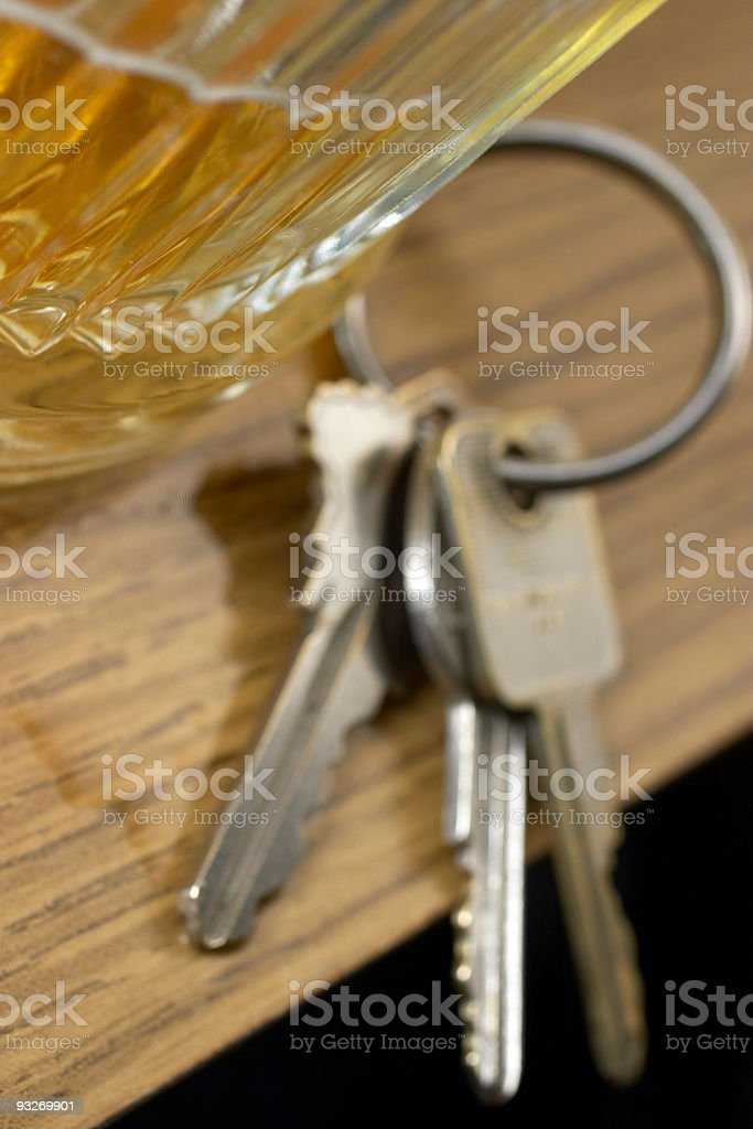 Drink & Drive #2 royalty-free stock photo