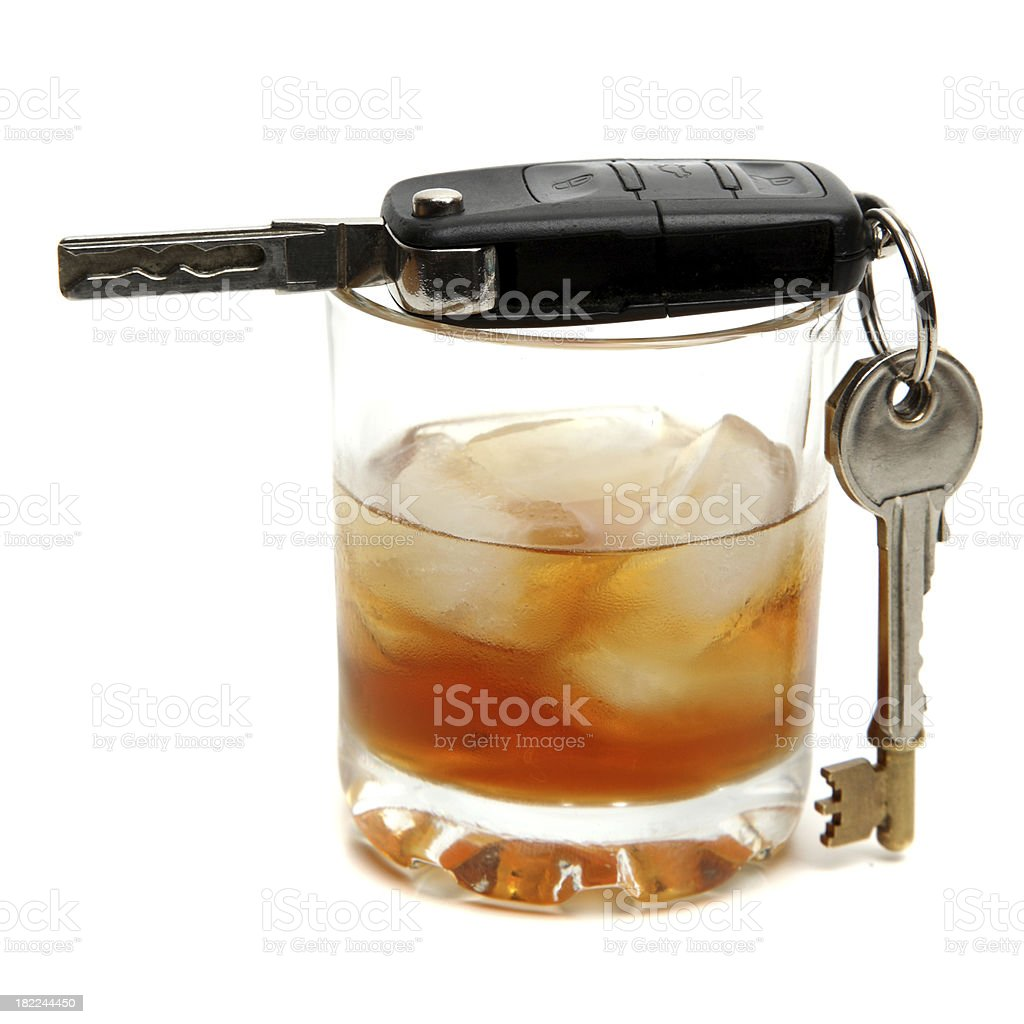 Drink Driving royalty-free stock photo