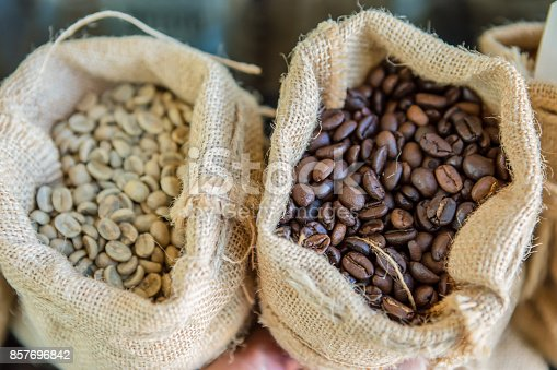 istock Drink, Food and Drink, Roasted Coffee Bean, Portugal, Agricultural Activity 857696842