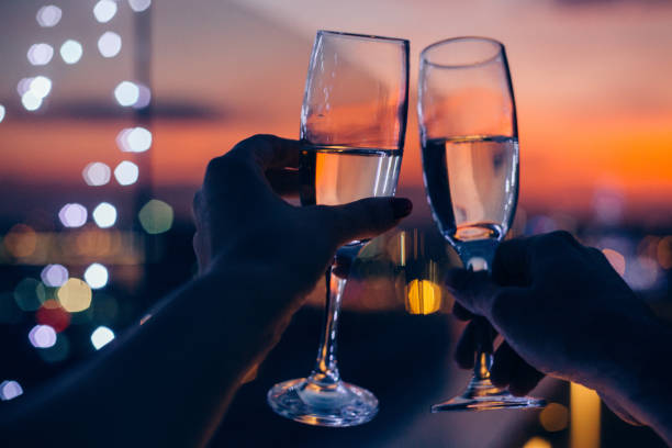drink for us - date night stock pictures, royalty-free photos & images
