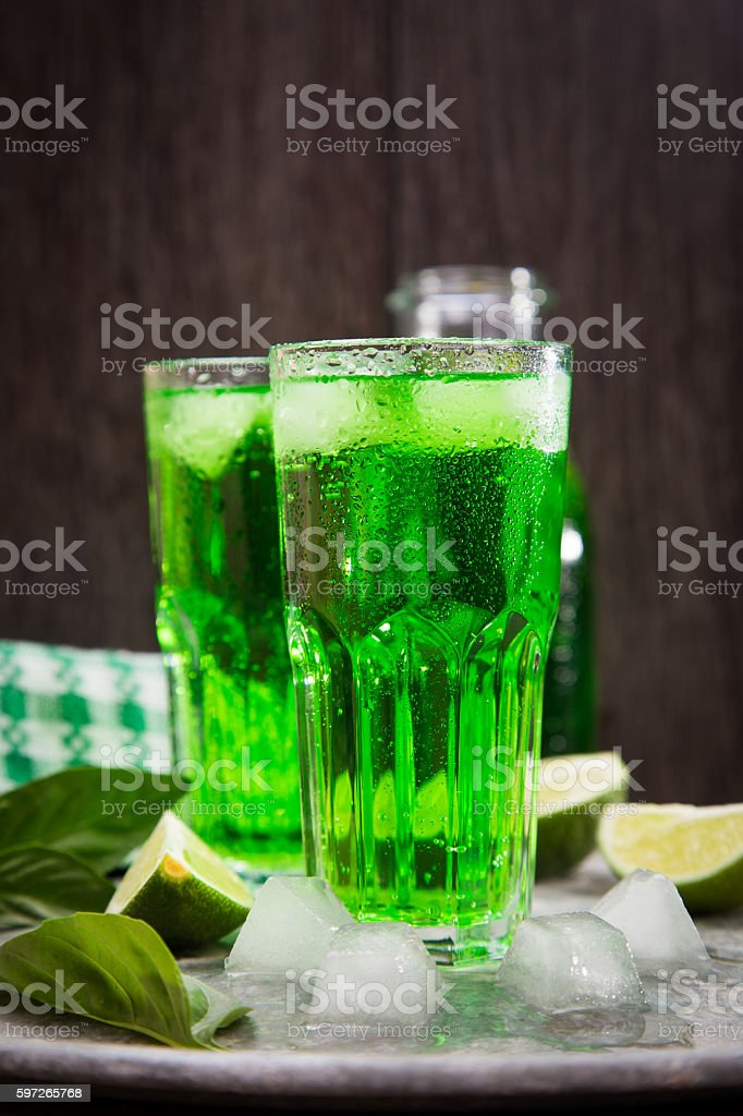 drink from estragon Lizenzfreies stock-foto