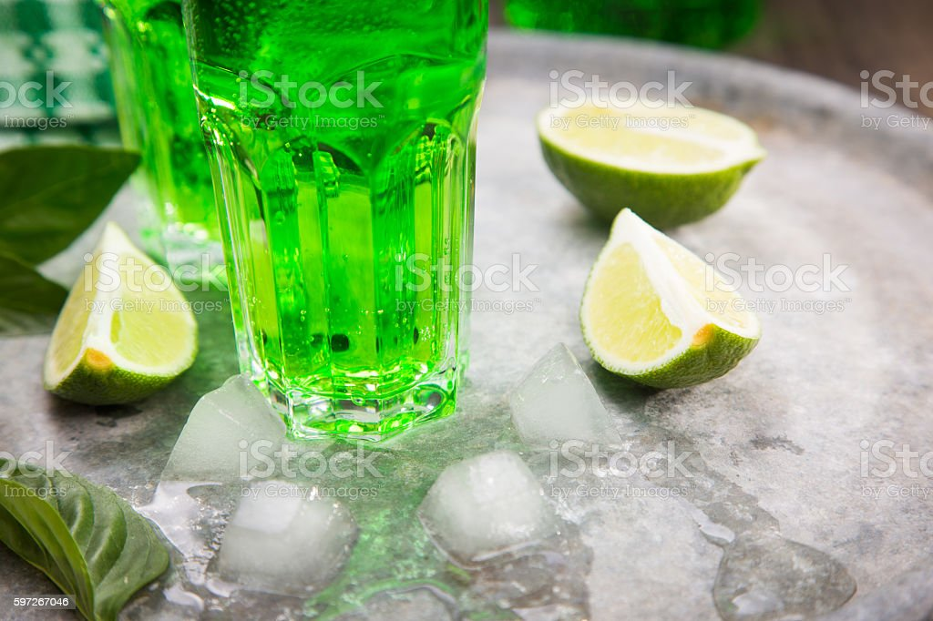 drink from estragon royalty-free stock photo