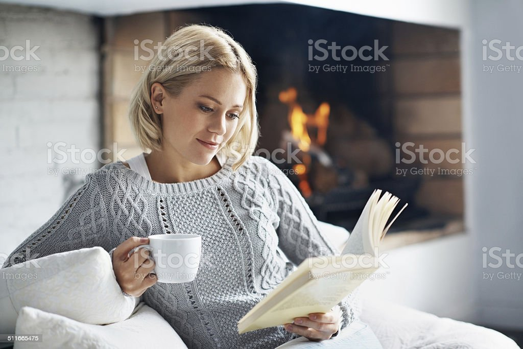 Drink good coffee and read amazing books