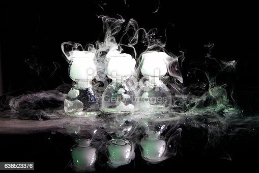 istock drink in glass with the effect of dry ice 638523376