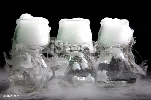 istock drink in glass with the effect of dry ice 638523422