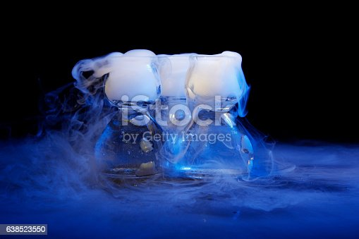 istock drink in glass with the effect of dry ice 638523550