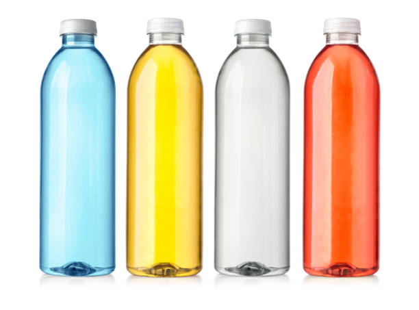 drink in plastic bottle - plastic cap stock pictures, royalty-free photos & images