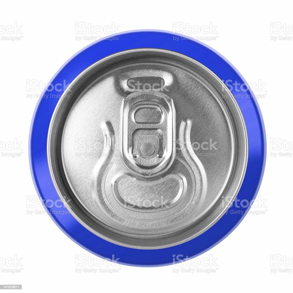 Drink metal bottle royalty-free stock photo