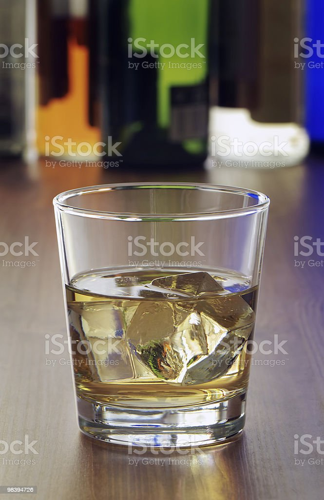 Drink on bar royalty-free stock photo